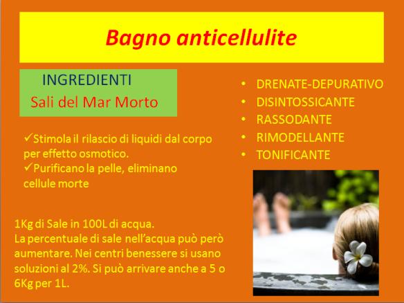 Ricette corpo natura e benessere con margherita - Bagno anticellulite ...